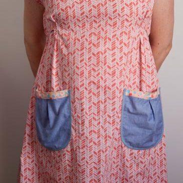 Dottie Angel Frock-along – Pleats and Pockets, Part 2