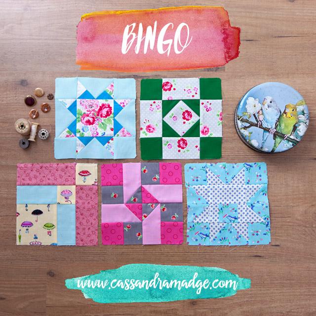 FW Bingo Game 1 Cassandra Madge