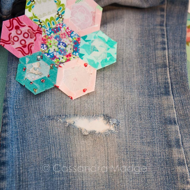 Quilters jeans - Cassandra Madge