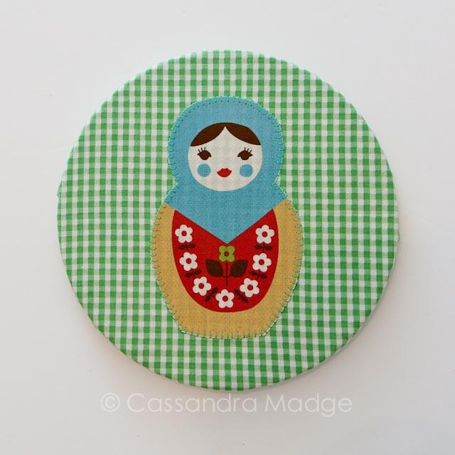 Super Quick Fabric Cork Boards - Cassandra Madge