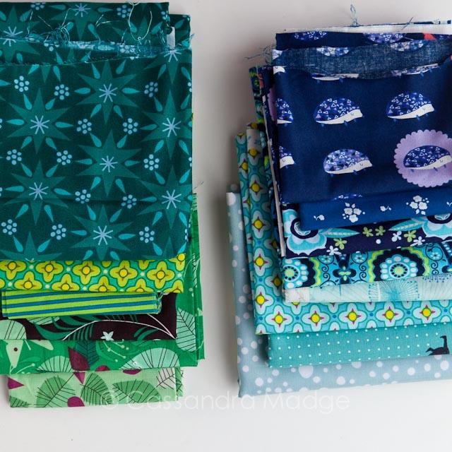 Millefiori Quilt Fabric - Cassandra Madge
