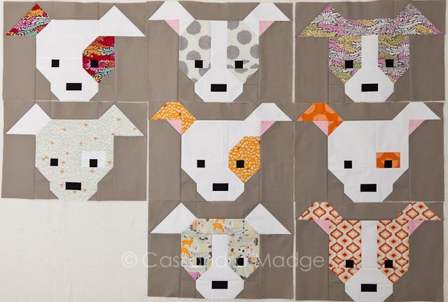 Moonshine Sew Fresh Quilts Dog Gone  - Cassandra Madge
