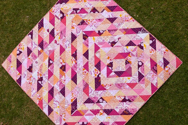 Candy Ripples Quilt - Cassandra Madge