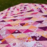 Candy Ripples Quilt – almost good enough to eat!