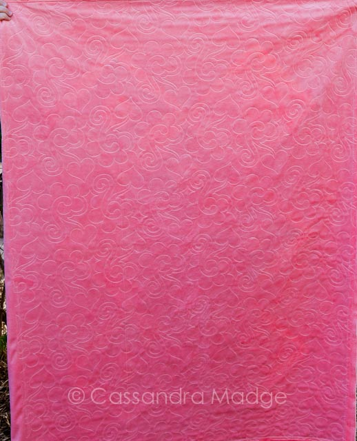 Chic Stars baby quilt - Juicy Quilting