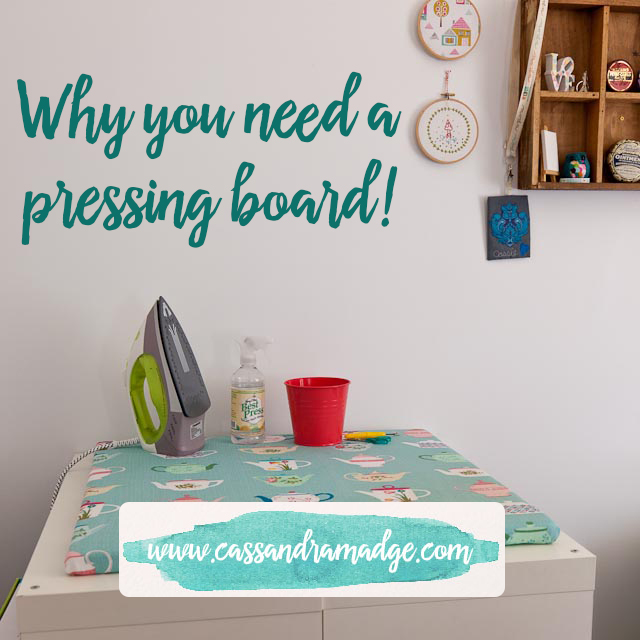 Why you need a pressing board - Cassandra Madge