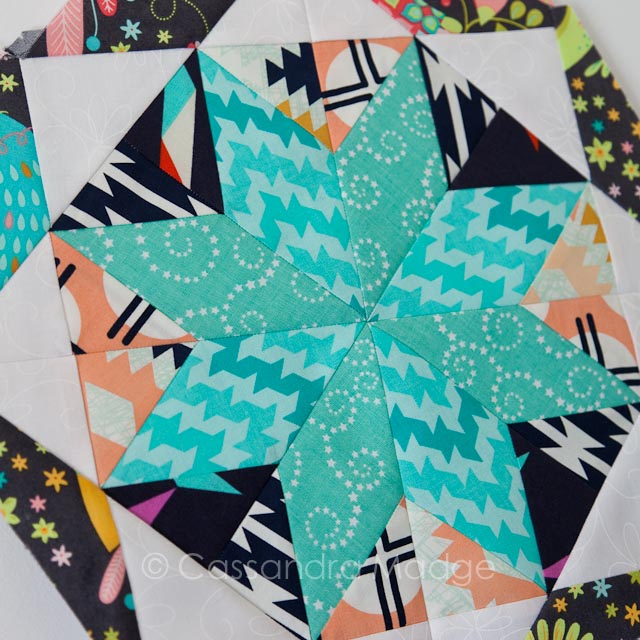 Best free paper pieced star pattern - Cassandra Madge