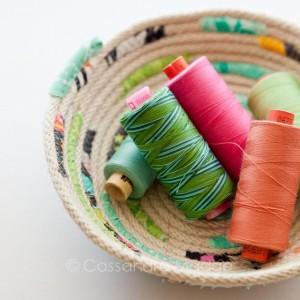 Fabric Bowl_Cassandra Madge