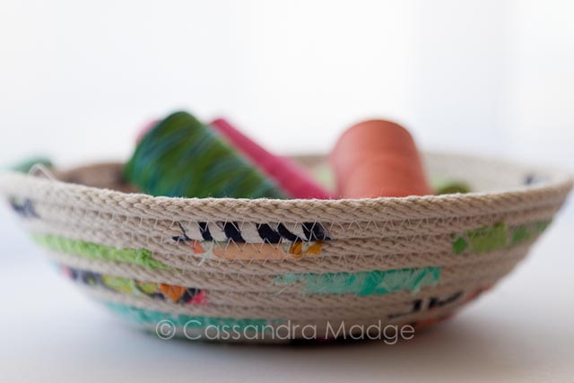 Fabric Bowl_Cassandra Madge