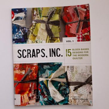 February quilting book review – Scraps Inc. Vol 1