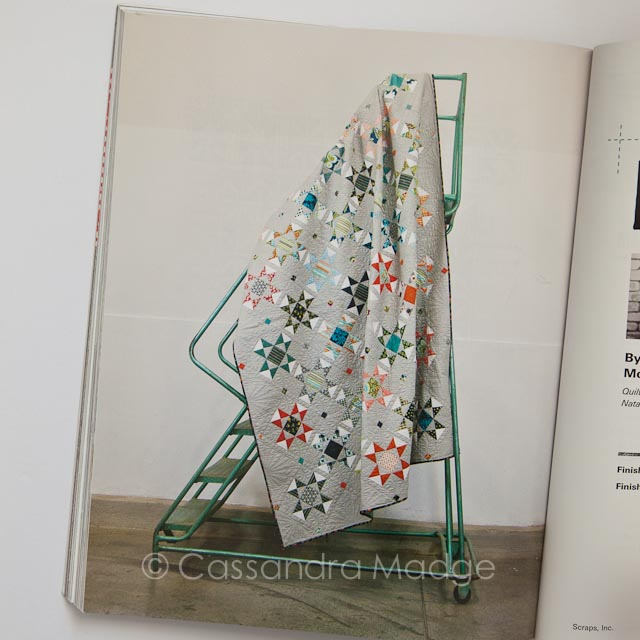 Scraps inc Vol 1 - Quilting book review Cassandra Madge