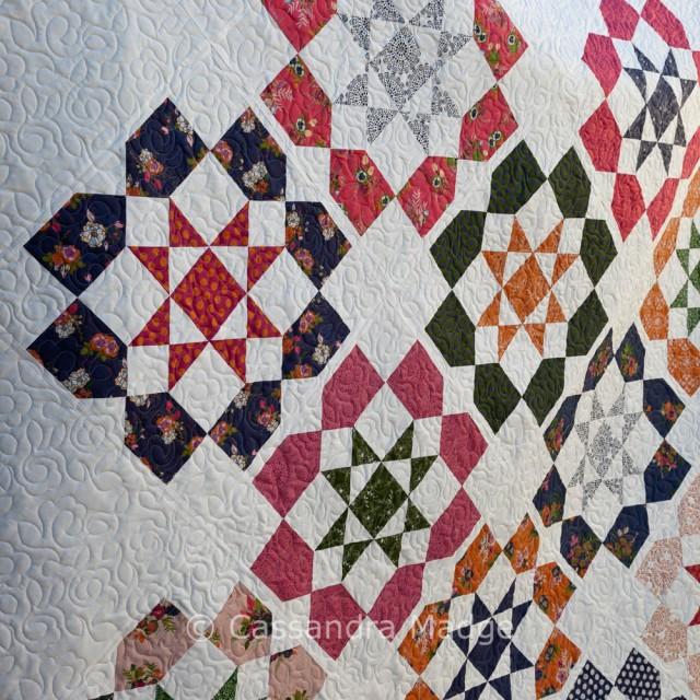 Dozen Roses Quilt - Live Love Sew Pattern Co