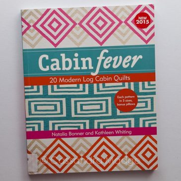 March quilting book review – Cabin Fever