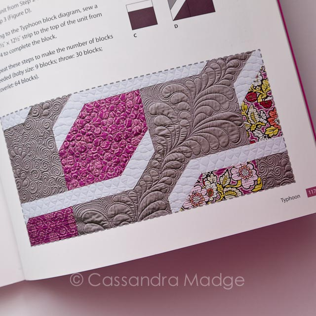 Cabin Fever - Quilting book review Cassandra Madge