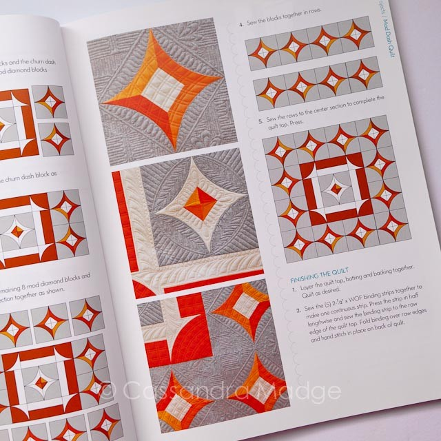 One Wonderful Curve quilting book review - Cassandra Madge