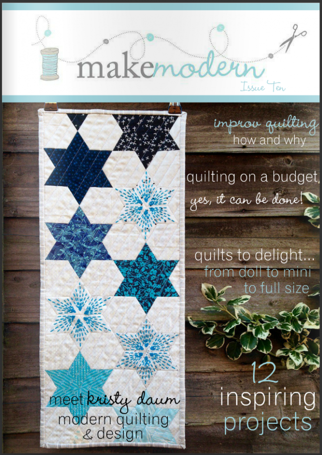 Make Modern - Medallion Quilt and Improv Quilting - Cassandra Madge