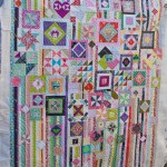 Gypsy Wife on the quilting frame