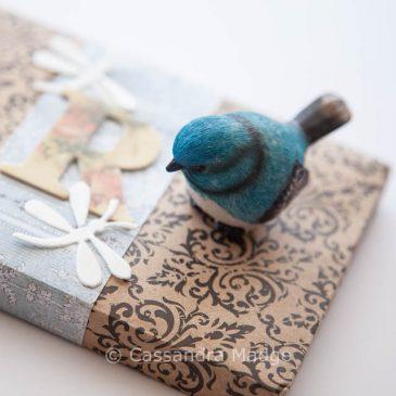 Sweet parcel for a sweet friend – Raquel