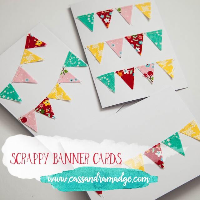 Scrappy Banner Cards Cassandra Madge