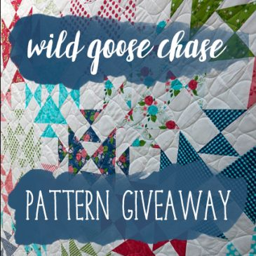 Wild Goose Chase – quilt pattern release