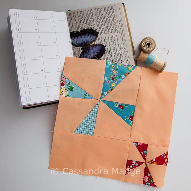 Project 48 Modern pinwheel - Cassandra Madge