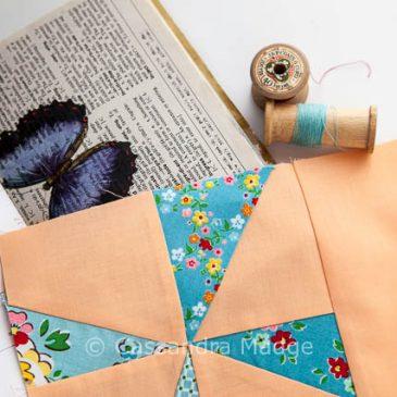 Project 48 Quilt – Modern Pinwheels