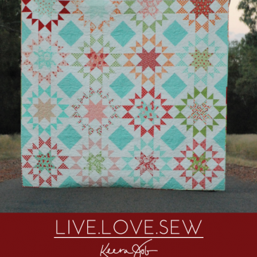 Homeward Bound – quilt pattern release