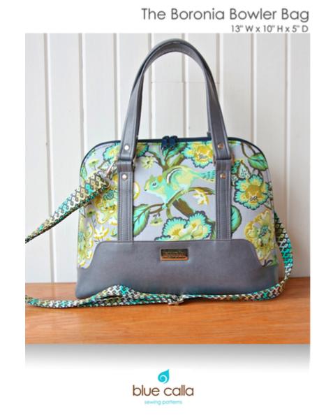 Blue Calla - Boronia Bowler Bag