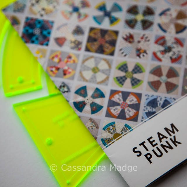 Steampunk pattern and templates - Cassandra Madge