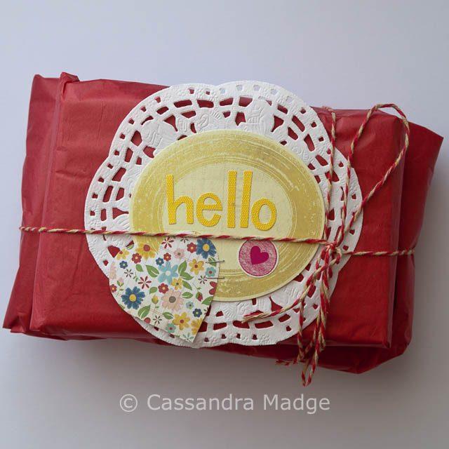 Bee parcel - Cassandra Madge
