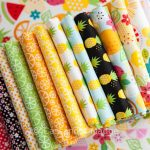Fresh Market quilt for the pineapple obsessed