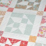Flower Basket quilt pattern from Live Love Sew