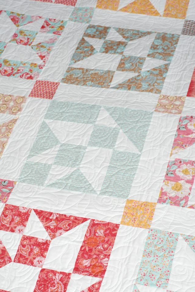 Flower Basket - Keera Job - Juicy Quilting