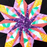 Paper piecing Star Bee update – October