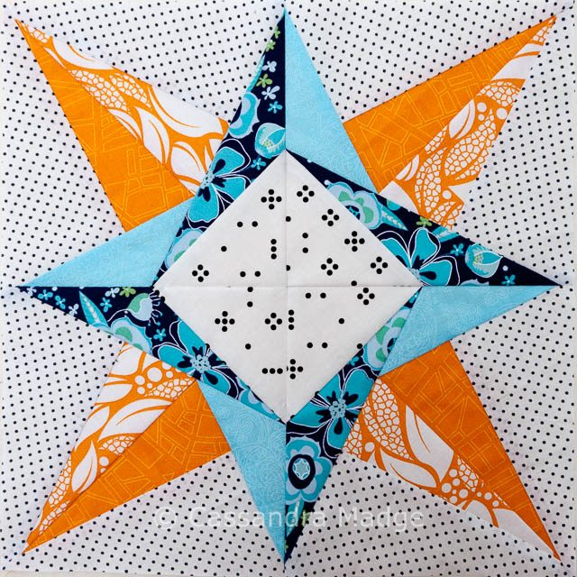 Nova Paper Pieced Star - Cassandra Madge