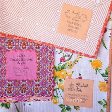 How to label your quilts quickly and neatly