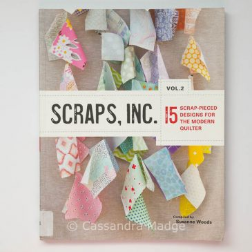 April quilting book review – Scraps Inc. Vol 2