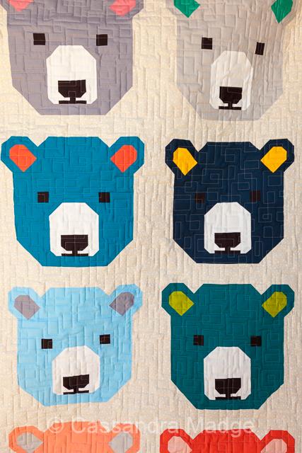 Bjorn Bear - Juicy Quilting