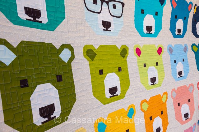 Bjorn Bear - Juicy Quilting