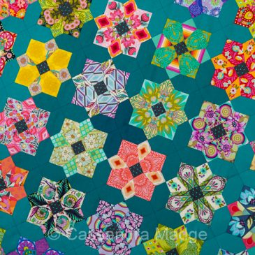 Epic Tula Pink EPP Quilt