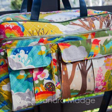Stella Weekender bag taking me over the rainbow!
