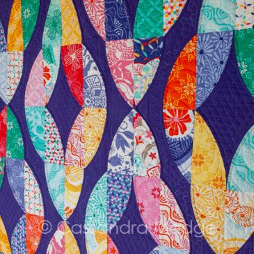 Twisted Dreams – finished quilt