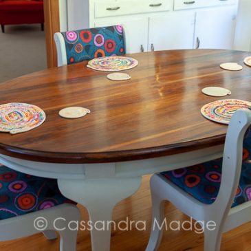 Renovating a new dining setting