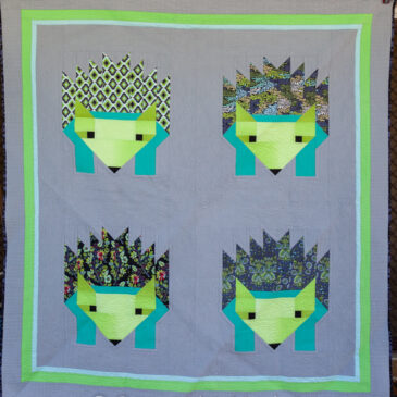Mrs Tiggy-winkle goes to town – Finished Quilt!