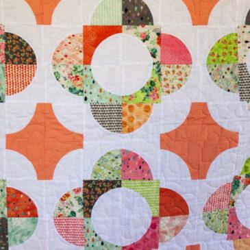 Arabian Garden – Finished Quilt